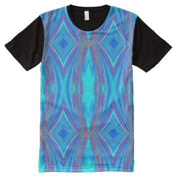 creative abstract pattern All-Over print t-shirt