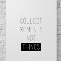 Photographer Poster Collect Moments - POSTER026