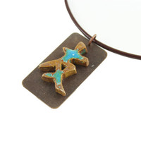 Japanese Symbol for Friendship Necklace - Unique Gift