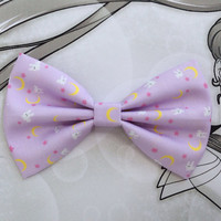 Sailor Moon Usagi's Blanket Inspired Hair Bow or Bow Tie