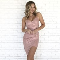 Just Like A Dream Pink Dress