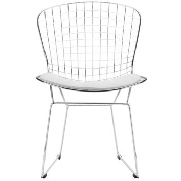 Morph Side Chair in White (Set of 2)