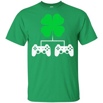 Video Game Clover Controller Gamer St Patrick's Day