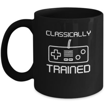 Classically Trained Controller Video Games Gamer Funny Coffee Mug