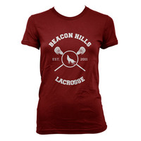 Stilinski 24 Beacon Hills Lacrosse Teen Wolf Women Tshirt tee