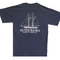 Blueprint Schooner T-Shirt :: Apparel :: Gray's Family Department Store