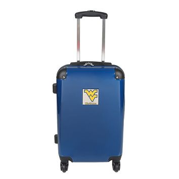 West Virginia Mountaineers 20-in. Hardside Rolling Spinner Suitcase (Wvu Team)