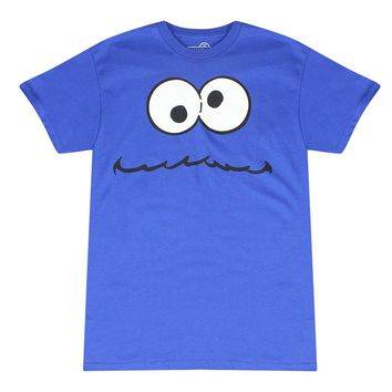 Sesame Street Cookie Monster Blue T-shirt