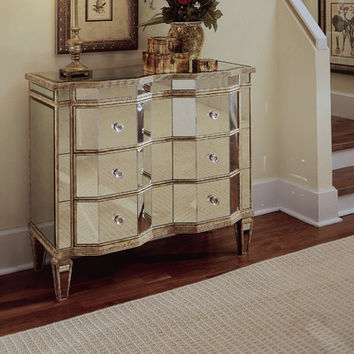 Hooker Furniture Mirrored 3 Drawer Chest From Wayfair Home