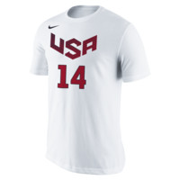 Nike USA Basketball Name and Number (Davis) Men's T-Shirt Size 2XL