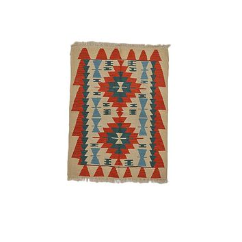 "Turkish Kilim Turkish 2' 11"" X 3' 11"" Handmade Rug"