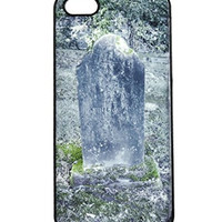 Tombstone Iphone 5 Case Gothic Undead Gift Plastic