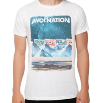 Awolnation Cassette Mountains T-Shirt