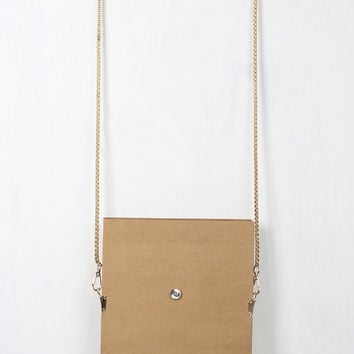 Paper Design Stud Detailed Bag