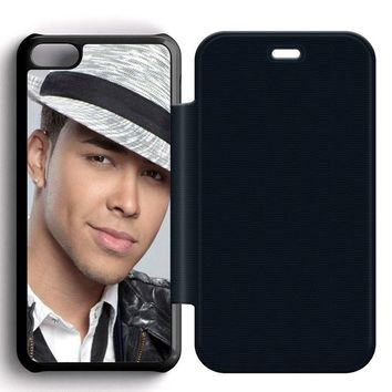Prince Royce Hat Leather Wallet Flip Case iPhone 5C