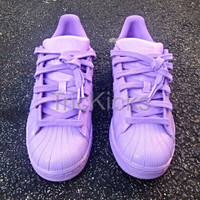 Adidas Superstar Customs, Lilac