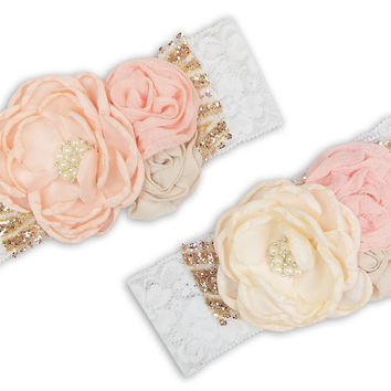 Sparkle N' Glam Couture Headband