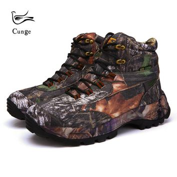 6 Colors Men Outdoor Waterproof Hiking Shoes Military Army SWAT Combat Tactical Shoes Boots Fishing Climbing Camouflage Shoes