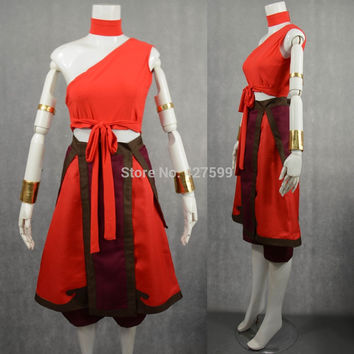 Avatar: The Last Airbender Katara Cosplay Costume Halloween Costumes