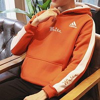 Boys & Men Adidas Fashion Casual Top Sweater Pullover Hoodie