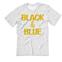 Black and Blue The Dress Shirt | Team White and Gold | Team Blue and Black whiteandgold blackandblue Tshirt | The Dress Black & Blue Tshirt