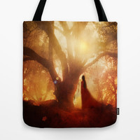 Autumn Song.. Tote Bag by Viviana Gonzalez