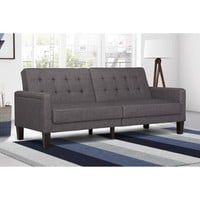 Paris Futon with Independently Encased Coils, Multiple Colors - Walmart.com