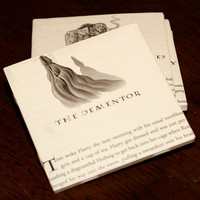 Harry Potter Coasters Chapters (w/ chapter illustrations)