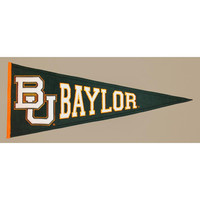 Baylor Bears NCAA Traditions Pennant (13x32)