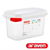 03020 GN1/9 PP airtight container 0.6L