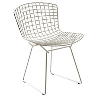 Bertoia Side Chair, Black