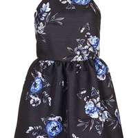 Strappy Floral Jacquard Dress - Topshop