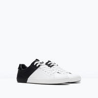 Zara Black and White Sneakers