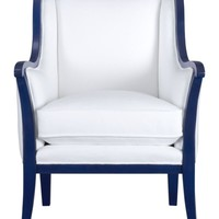 Carly Chair with Cobalt Blue Frame