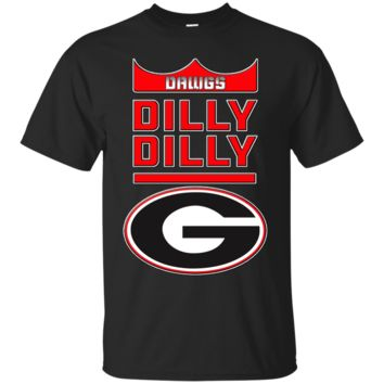 GEORGIA BULLDOGS : DILLY DILLY : SEC : Cotton T-Shirt