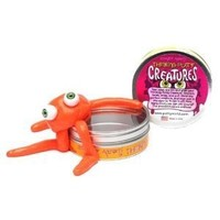 Crazy Aaron's Putty World Putty Creature Orange Putty