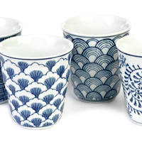 Sushi cups - Set of four