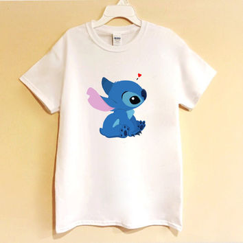 Stitch Shirt/Sweatshirt crop top - stitch - lilo and stitch - tumblr - top - cute - shirt - graphic tee - trending top - crewneck - trendy