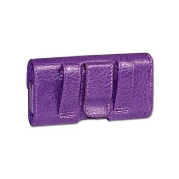 HORIZONTAL POUCH HP1022A MOTOLORA V9 PURPLE 4X0.5X2.1 INCHES: Case Of 120