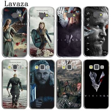 Lavaza Ragnar Lothbrok Vikings Phone Cover Case for Samsung Galaxy A5 A3 2015 2016 2017 A6 A8 Plus 2018 Note 9 8 Grand Prime