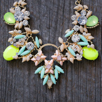 Jeweled Necklace Set