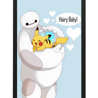 Baymax Hairy Baby Big Hero 6 iPhone 6 Cases - Hard Plastic, Rubber Case