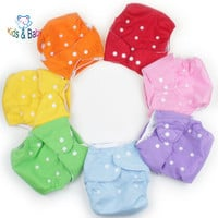 1PCS Reusable Baby Infant Nappy Cloth Diapers Soft Covers Washable Size Adjustable Fraldas Winter Summer Version