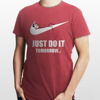 just do it tomorrow nike t-shirt