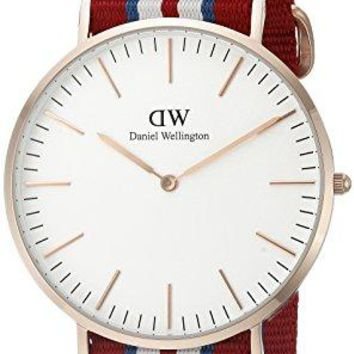 Daniel Wellington Men's 0112DW Analog Display Japanese Quartz Multi-Color Watch