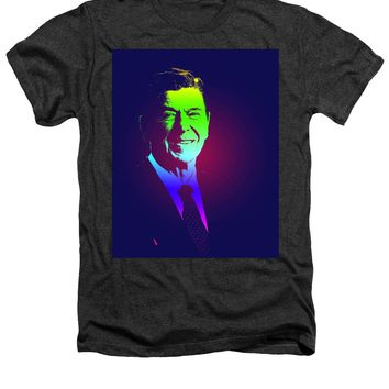 Portrait Of President Reagan 1981 Poster - Heathers T-Shirt