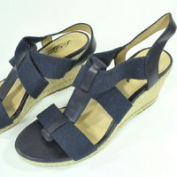 Lucky Brand Kalenna Moroccan Navy Wedges 8