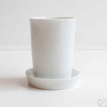 Hirezake Ceramic Cup and Saucer