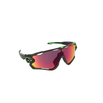 Oakley Mens OO9290 Jawbreaker PRIZM Sport Sunglasses, Cavendish Polished Black,