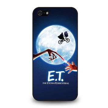 e t alien iphone 5 5s se case cover  number 1